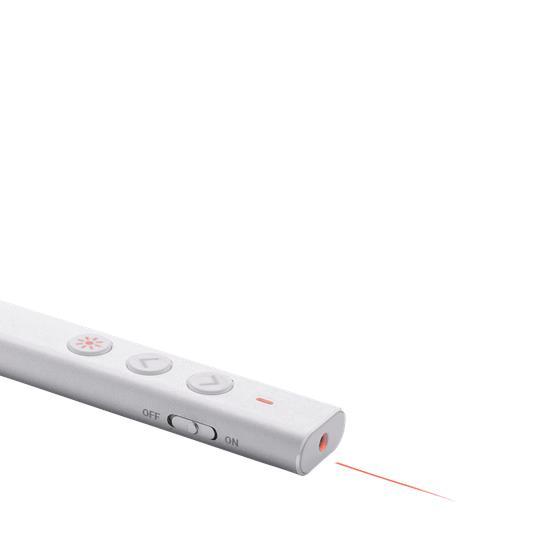 Laserpekare med tryck