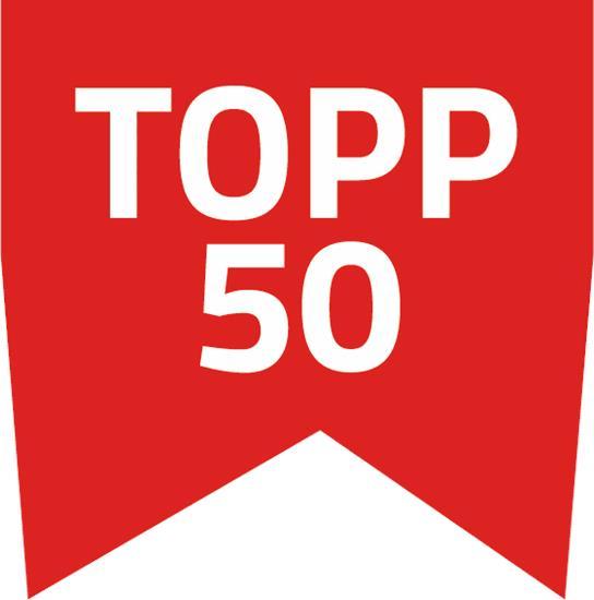 Bästsäljare Topp 50 med tryck